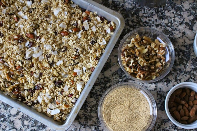 Coconut Super Grain Granola