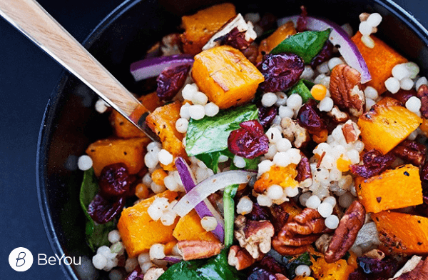 Couscous Salad With Roasted Butternut Squash